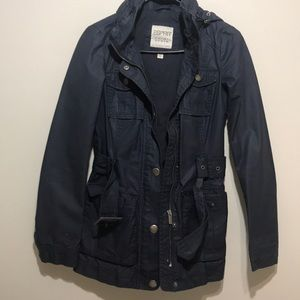 ESPRIT blue waterproof jacket